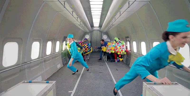 OK Go's Fun New Music Video Was Filmed on a Zero-G Aircraft