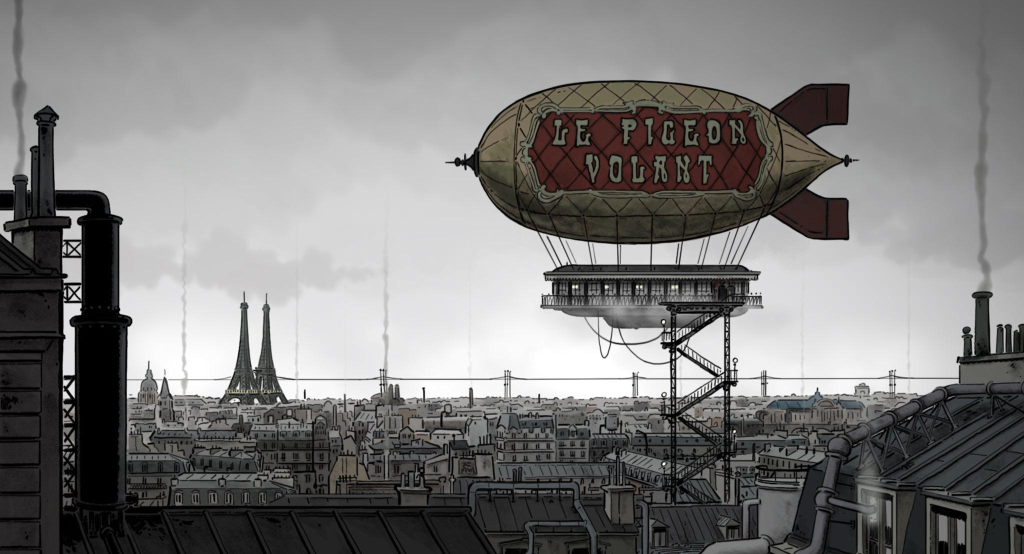 A Must-See Trailer for an Incredible Animated Steampunk Adventure