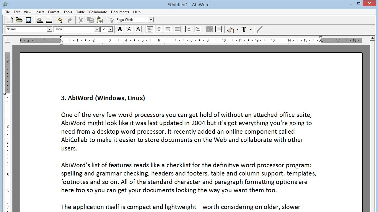 The Best Microsoft Word Alternatives That Are Totally Free