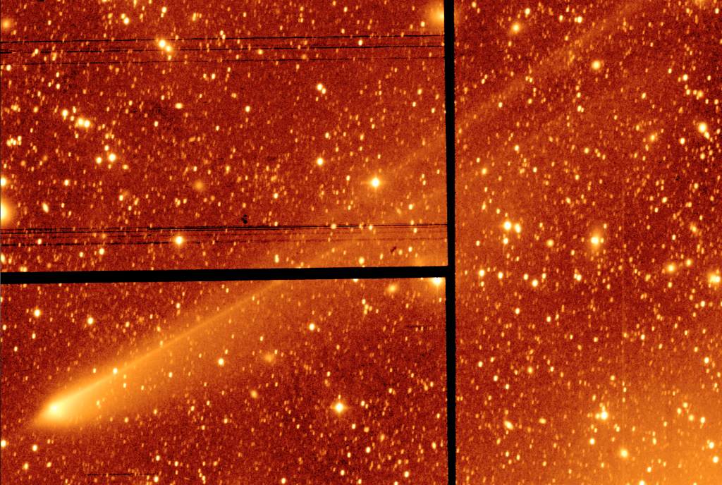 There's Something Very Strange in This New Image of Comet 67P
