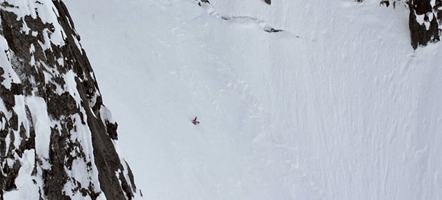 Skier Somehow Survives a Terrifying 305m Tumble Down a Mountain