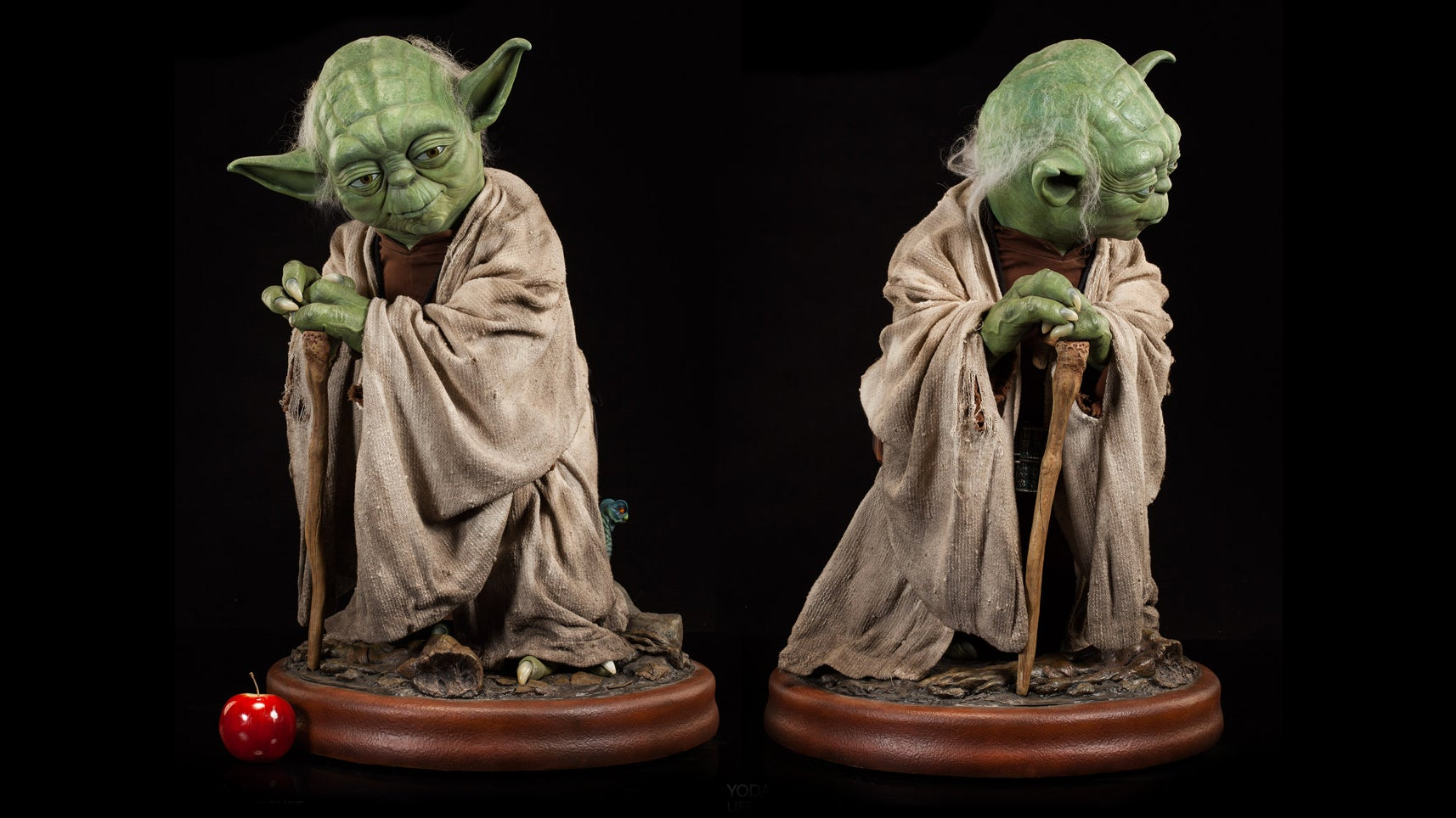 A Jedi Master Would Surely Approve Of Spending $3300 On This Life-Size Yoda