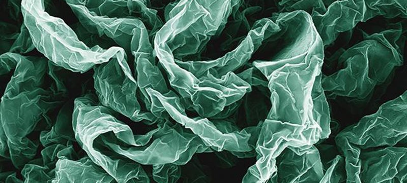 Crumpled Graphene Can Be Even Better Than the Flat Stuff