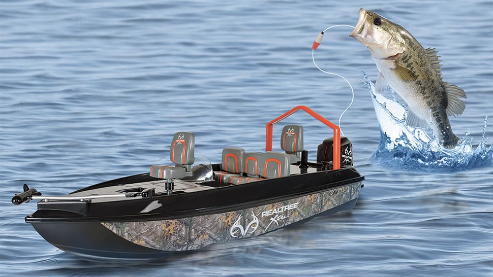 fishing is even lazier when you use an rc boat gizmodo