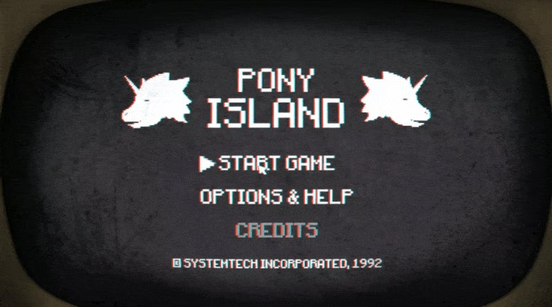 Pony Island Is One Seriously Twisted Game