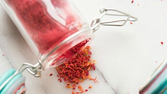 Make Colourful, Tangy Sprinkles Out of Dried Fruit