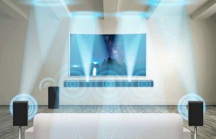 Samsung's New Soundbar Doesn't Need Speakers in Your Ceiling for 3-D Audio