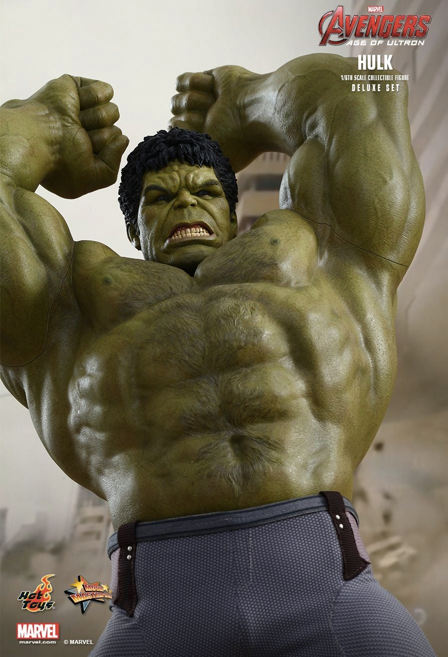 This New 17-Inch Hulk Figure Comes With Next-Level Chest Hair Detailing