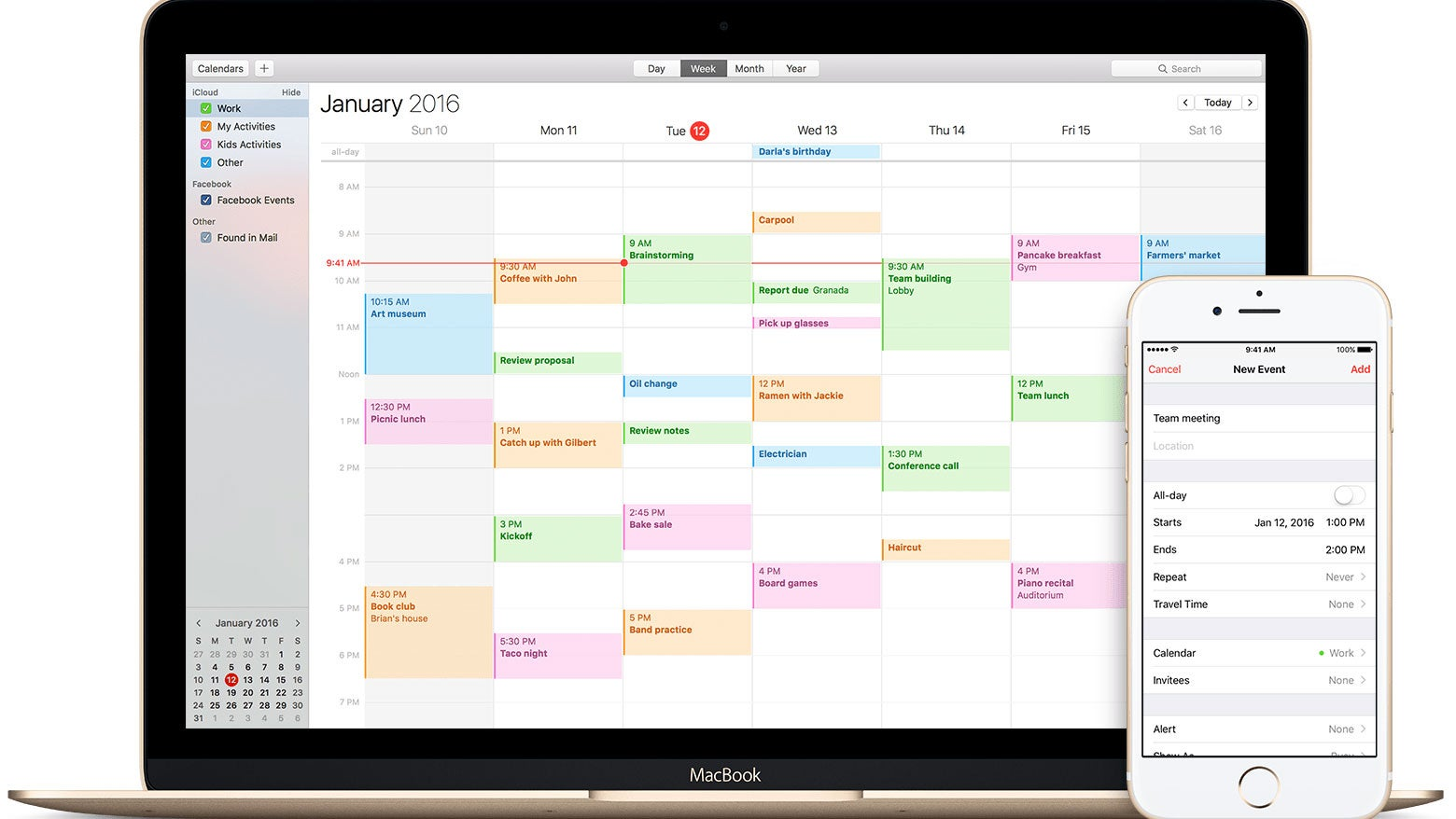 How to get rid of Apple Calendar spam