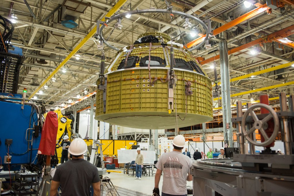 NASA Has Completed Welding Together The Orion Spacecraft's Crew Module