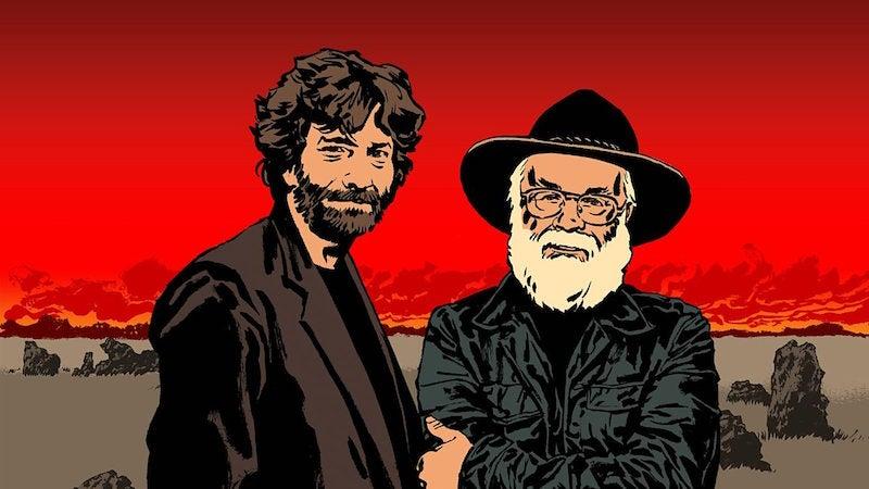 Neil Gaiman Is Writing A Six-PartGood Omens Miniseries