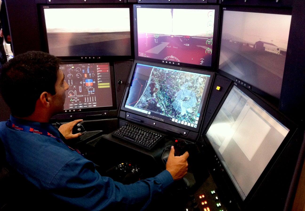 The New Predator Drone Cockpit Looks Like A Dream Gaming Setup
