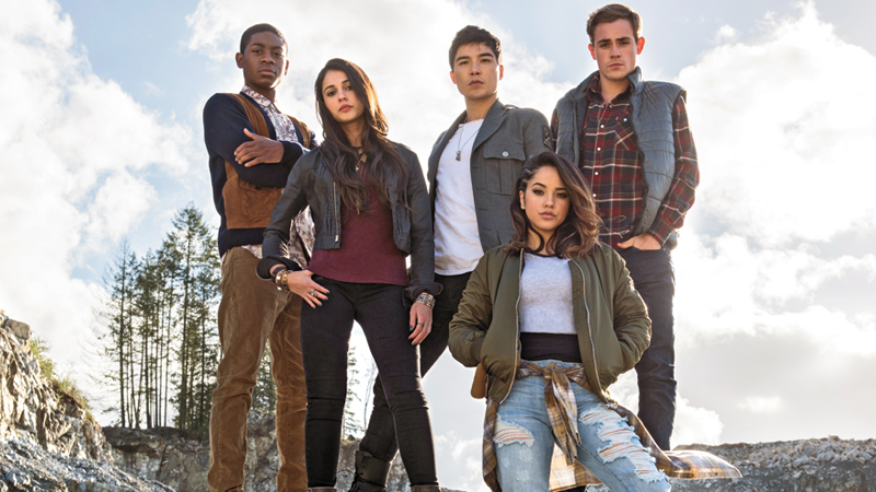Behold, the New Power Rangers Movie's Teenagers With Attitude