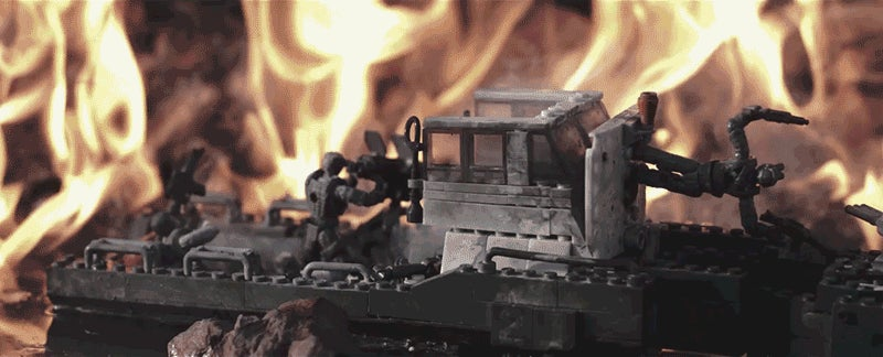 Real Explosives Blowing Up Mega Bloks In Slo-Mo Is Every Kids' Fantasy