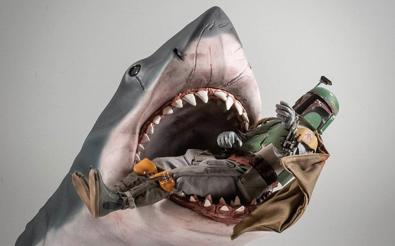 You Can Customise the Level of Gore Detail On This Jaws Shark Bust