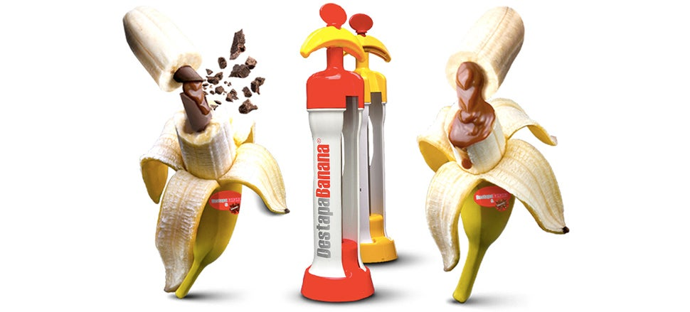 A Magical Machine Lets You Inject Bananas With Sweet Sweet Fillings