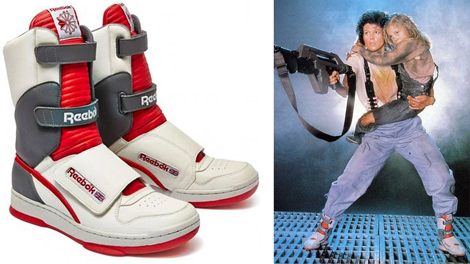 Hell Yes Reebok Is Releasing Ripley's High Top Sneakers From Aliens