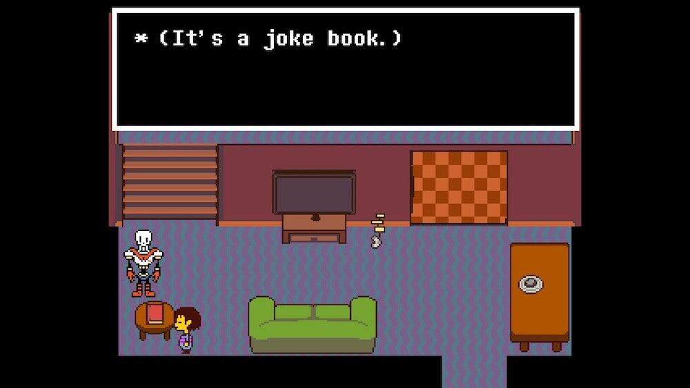 Undertale, As Told By 123 Screenshots