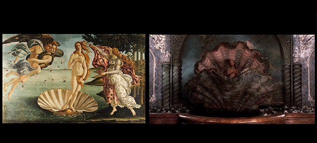Film Scenes and the Art Paintings That Inspire Them, Side-By-Side