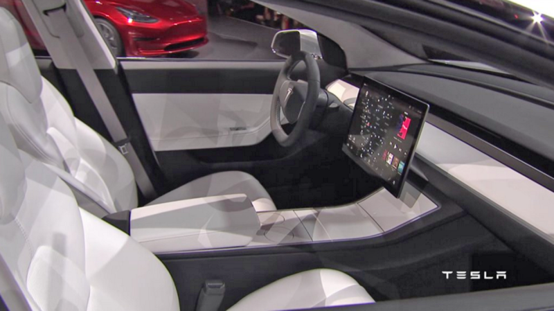 Report: Tesla's Model 3 Displays Will Be Provided By LG