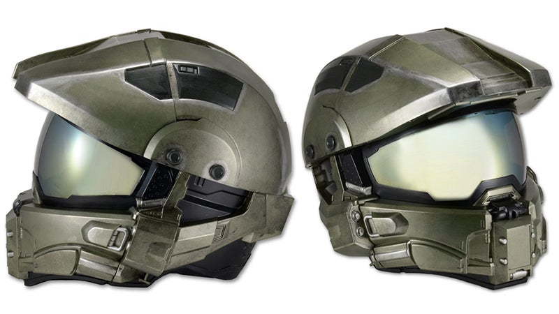 A Halo-Themed Helmet That Protects Your Head On Motorcycles or Warthogs