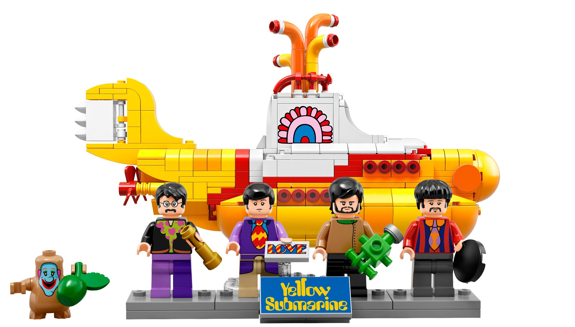 We All Live In An Official LEGO Yellow Submarine Kotaku