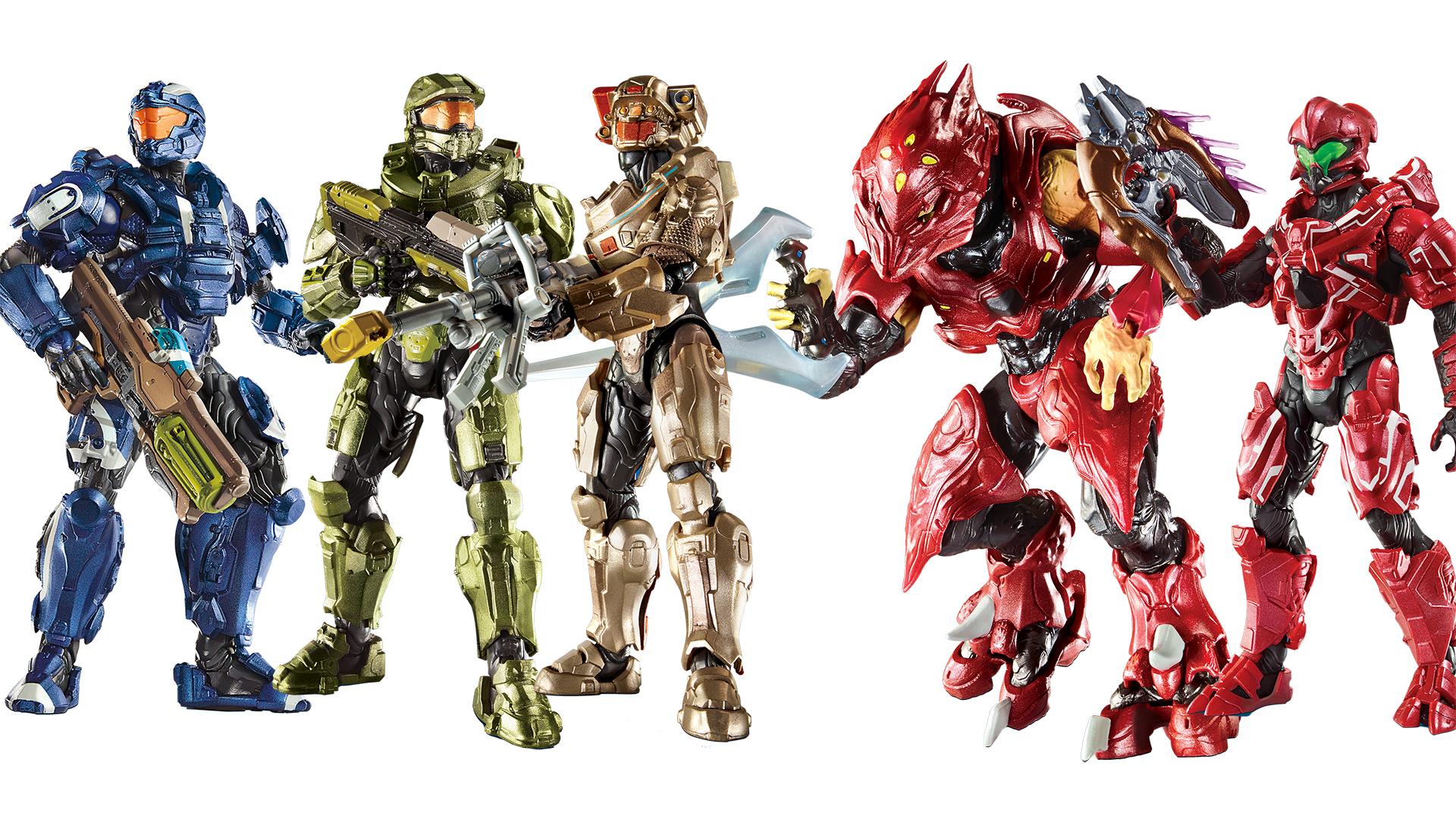 Mattel's Doing All The Halo Toys Now, And They Look Killer