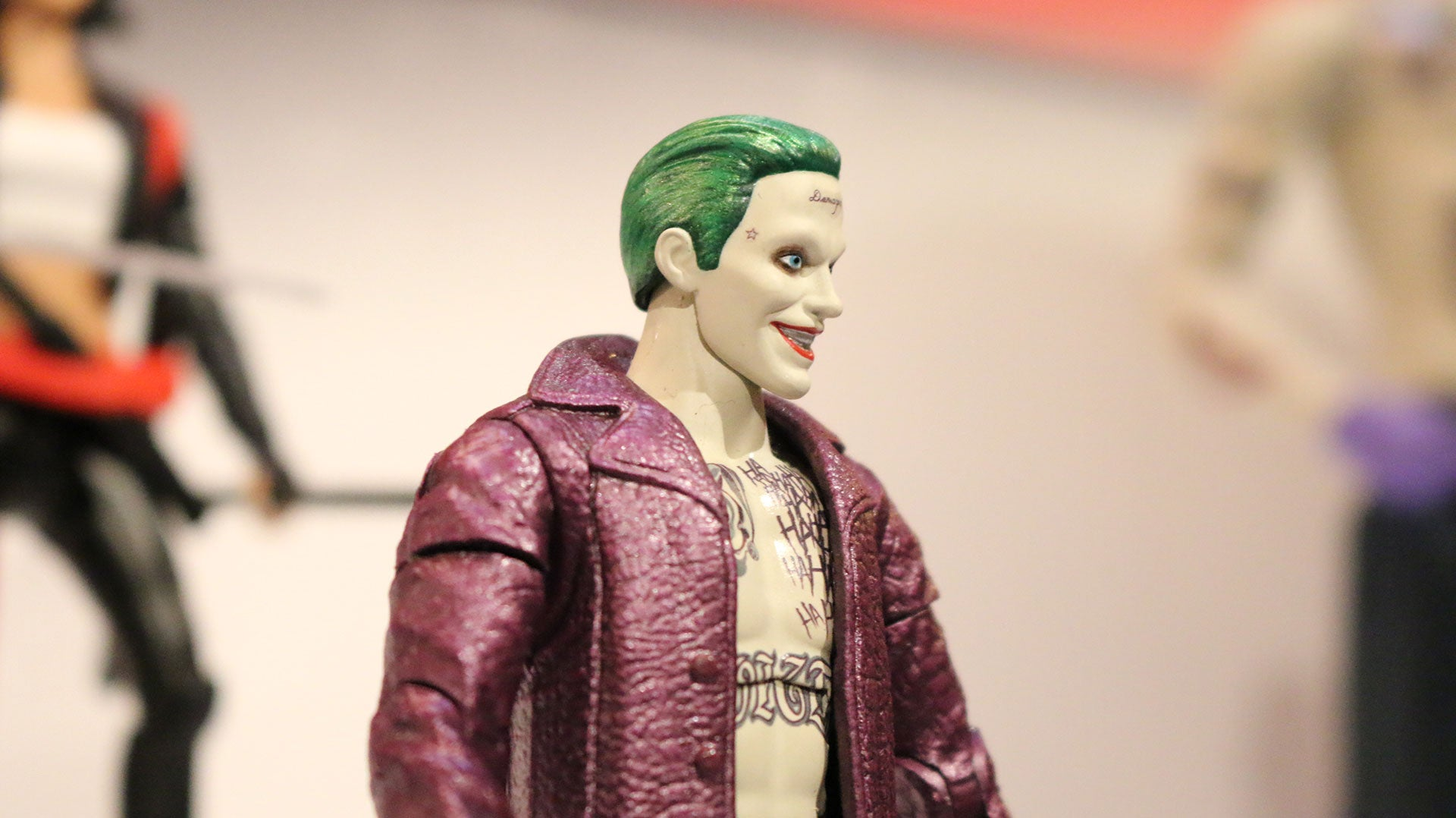 The Joker's Still Ridiculous In Our First Look At Suicide Squad Action Figures