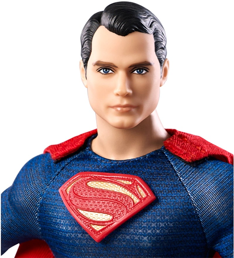 I Can't Stop Staring Into Superman Barbie's Dreamy Eyes
