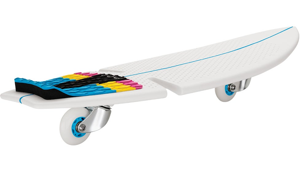 The Razor RipSurf is a Strange Hybrid Between a Skateboard and Surfboard