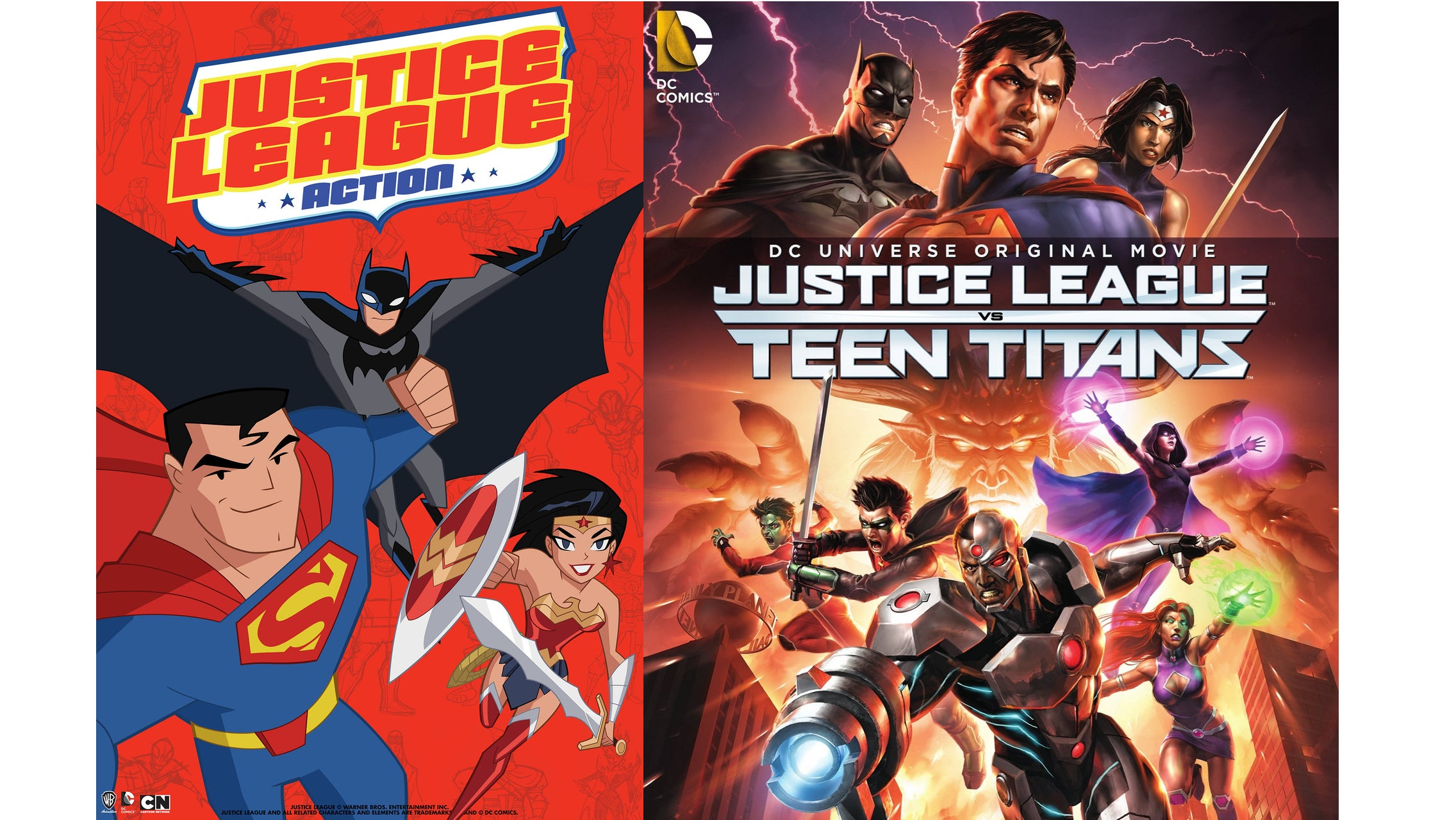 Two New Cartoon Versions of the Justice League Are Coming Soon