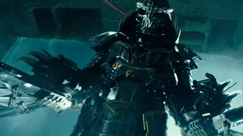 Shredder Looks a Hell of a Lot Better in Teenage Mutant Ninja Turtles 2