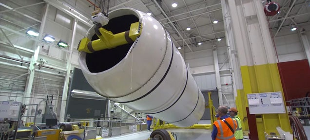 This is how NASA makes its most powerful solid rocket boosters ever
