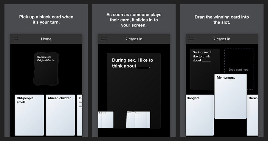 You Can Now Play Cards Against Humanity Online With Anyone For Free