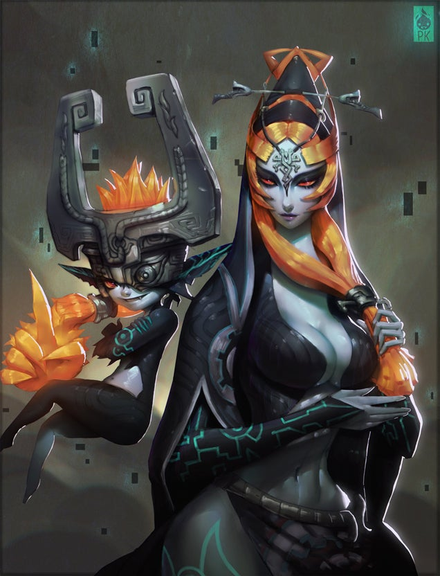 Midna's Forms From The Legend Of Zelda: Twilight Princess ...