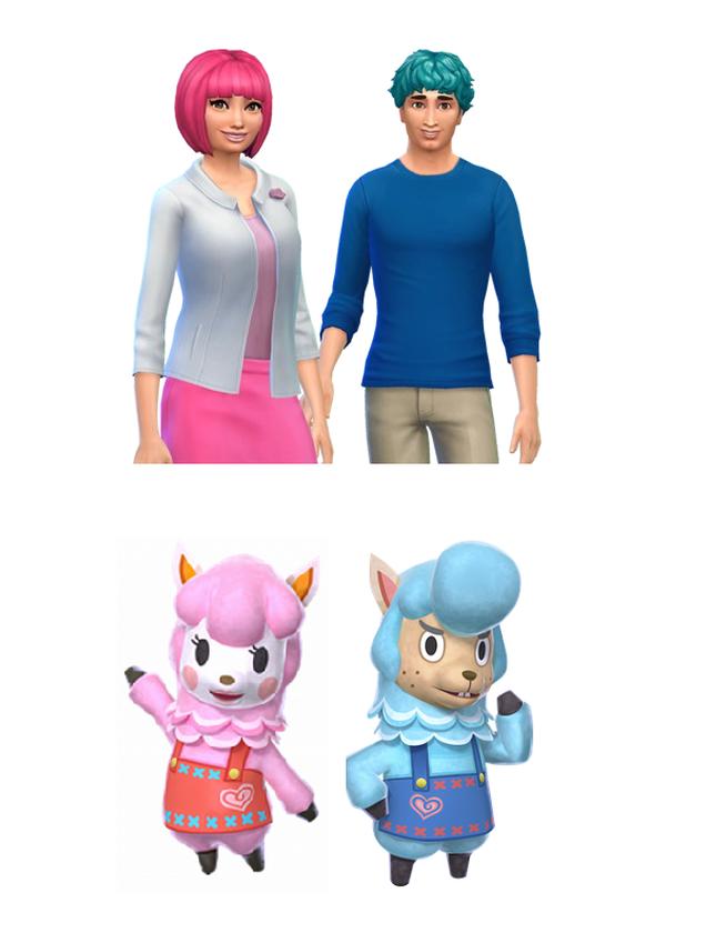Animal Crossing Characters, Humanised In Sims 4   Kotaku ...