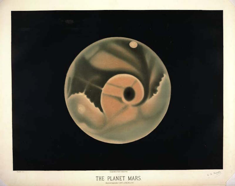 These 19th Century Drawings Of Planets Are Abstract Wonders