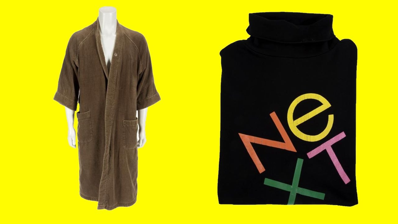 Steve Jobs' Old Stuff Is Up For Auction (Including One Very Special Turtleneck)
