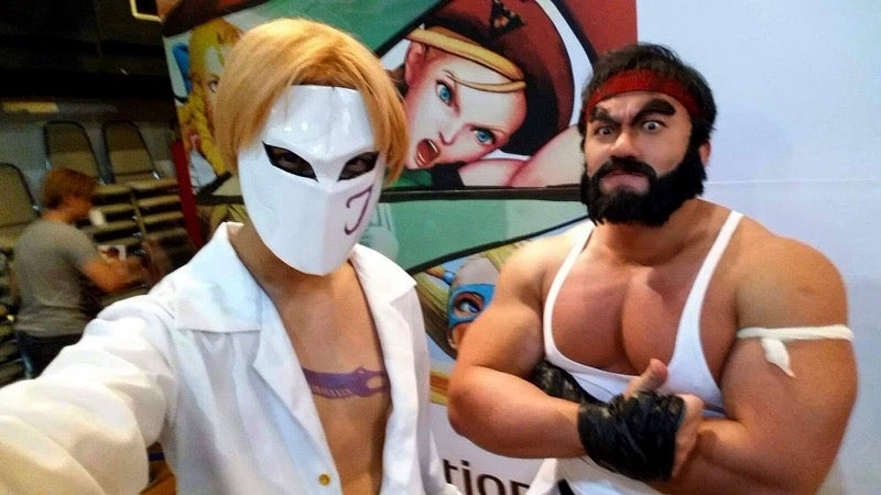 Enormous Muscles Sure Help with Cosplay