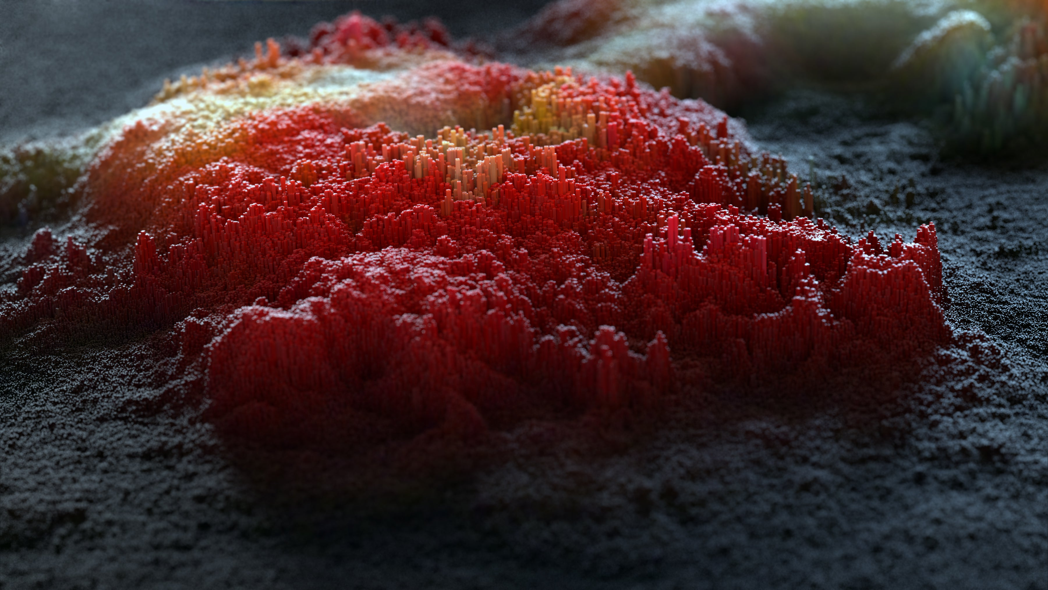 Gorgeous renders look like alien planets or Minecraft worlds