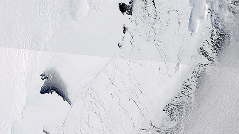 There's Something Enormous Buried Beneath the East Antarctic Ice Sheet
