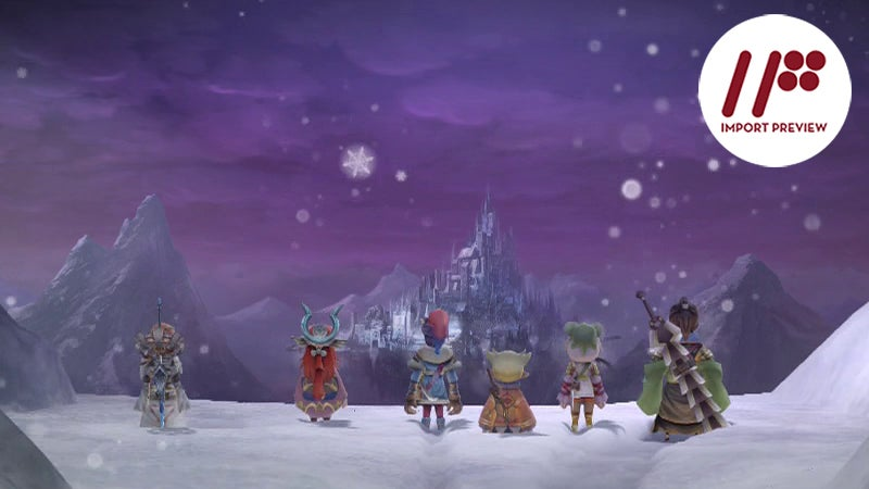 Square-Enix's New RPG Harkens Back To Their Big 90s Classics