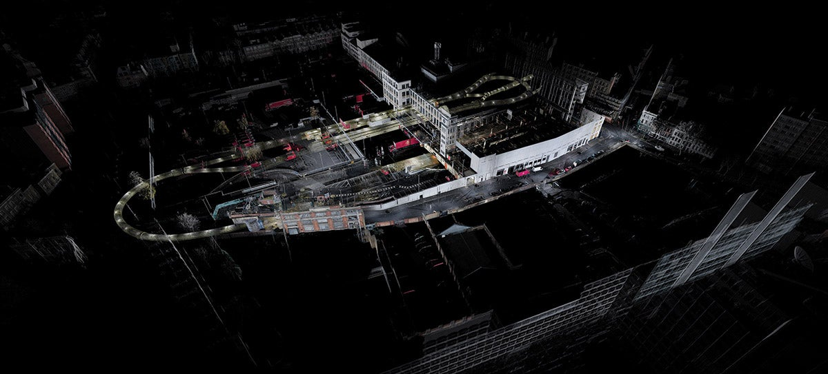 3D Laser Scan Shows London's Abandoned Underground Mail Rail Network