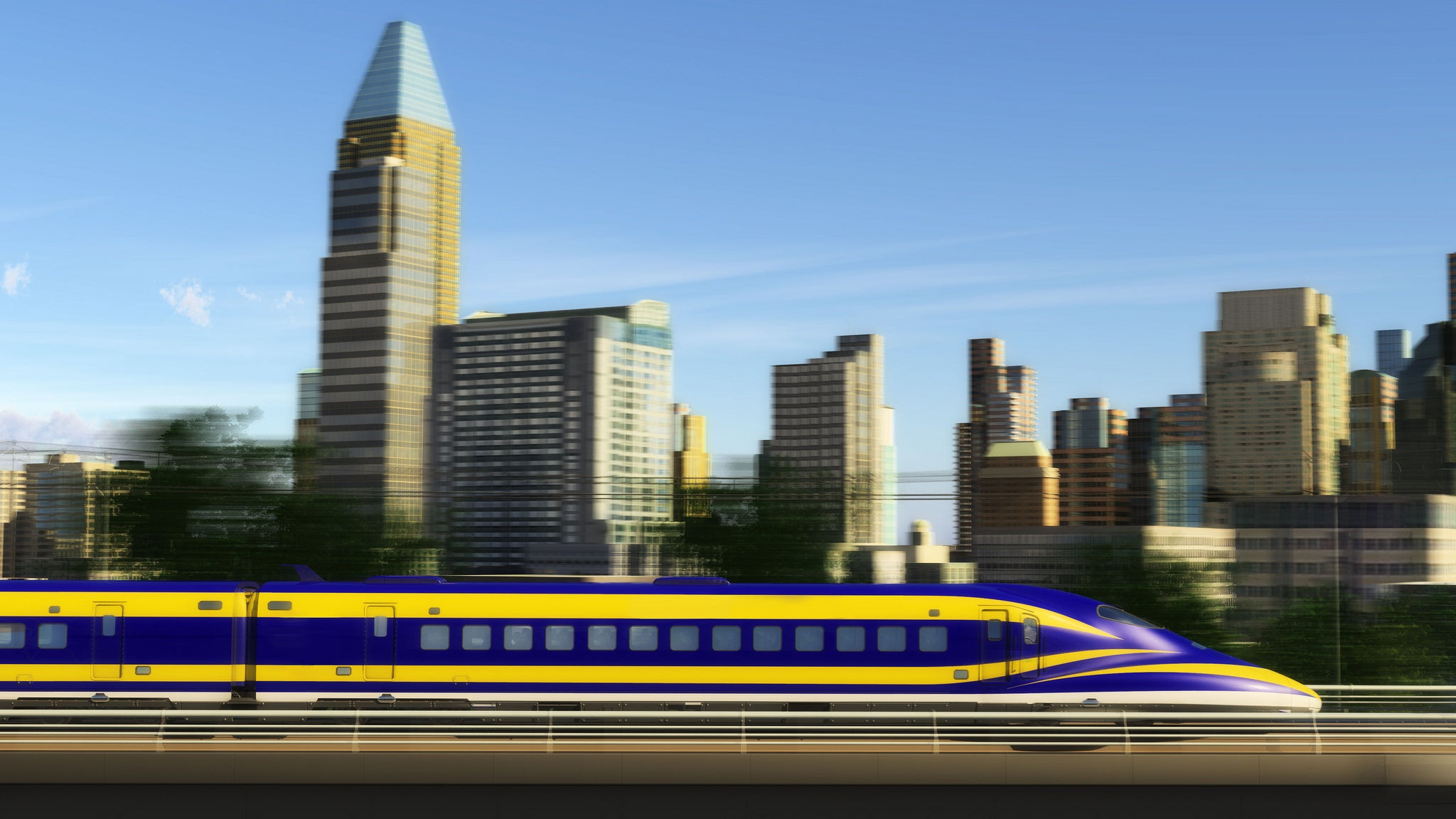 California's Bullet Train Gets Delayed, Leaves Door Wide Open for Hyperloop