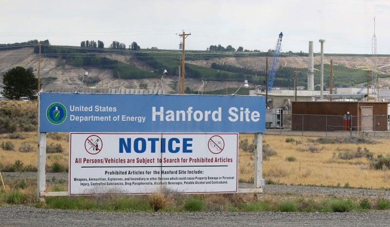 Another Tank May Be Leaking At Washington's Radioactive Storage Facility