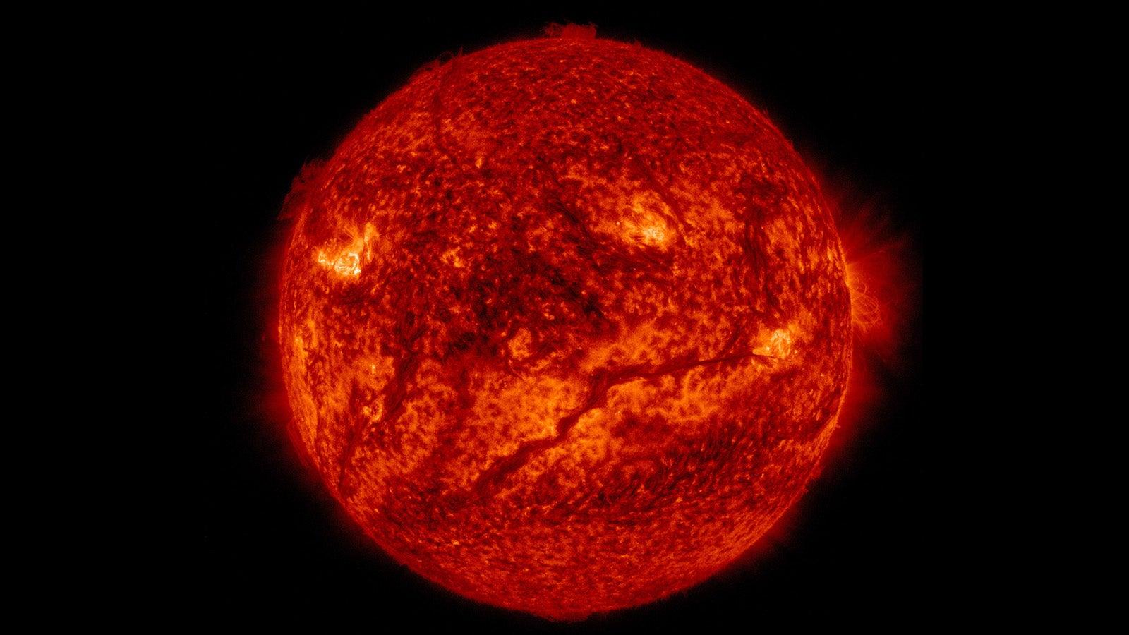 Hey Sun, Why So Serious?