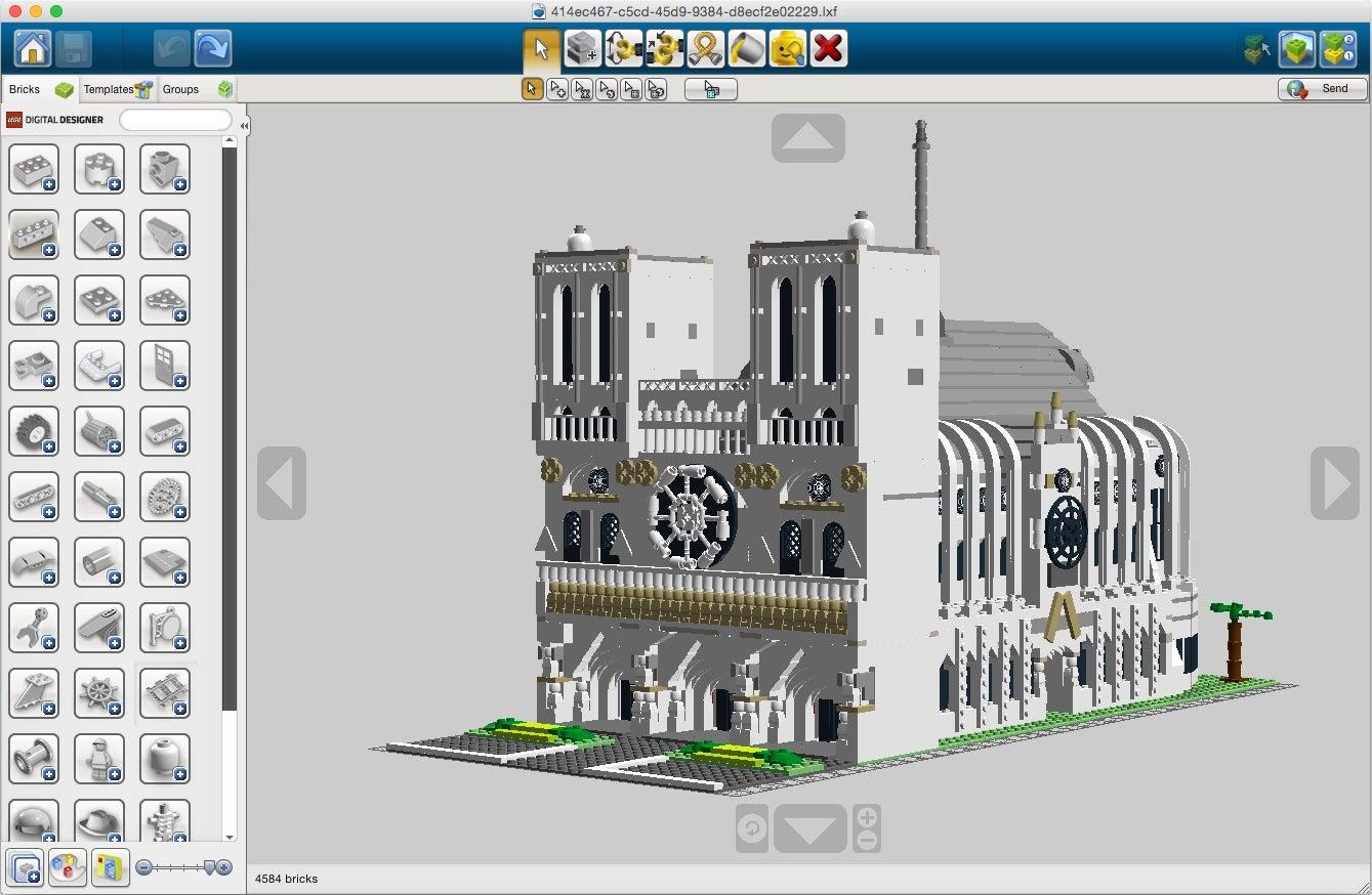 Job Lego Designer