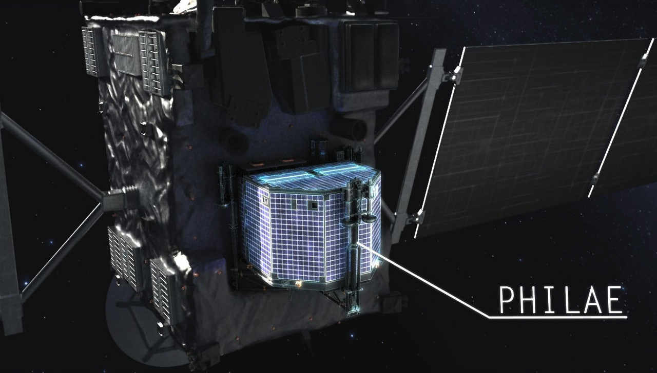 7 Gadgets Rosetta Is Sending To the Surface of the Comet
