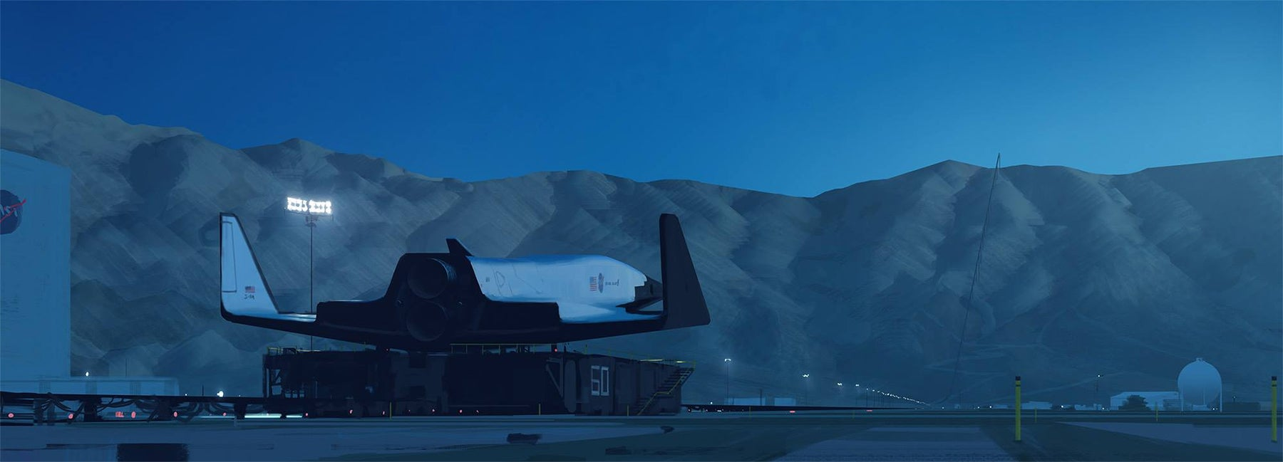 I wish this cool maglev-launched spaceplane were real