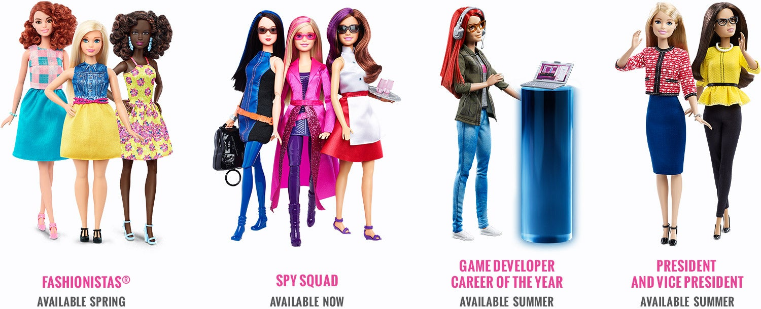 New Barbie Makes Video Games For A Living